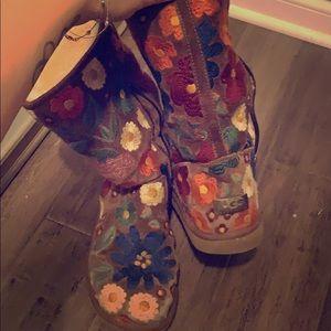 UGG Floral Boots